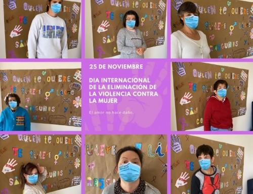 Día Internacional de la Eliminación de la Violencia contra la Mujer en Centro Vértice