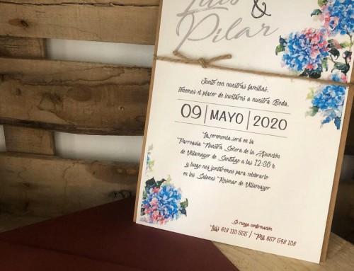 Unas invitaciones de boda con una historia muy especial